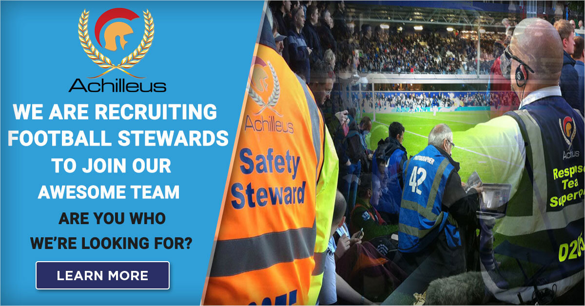 Football Stewards Jobs