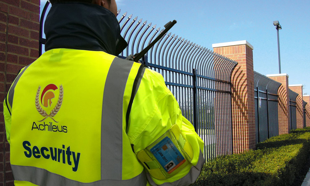 SIA Security Guards | Achilleus Security | London
