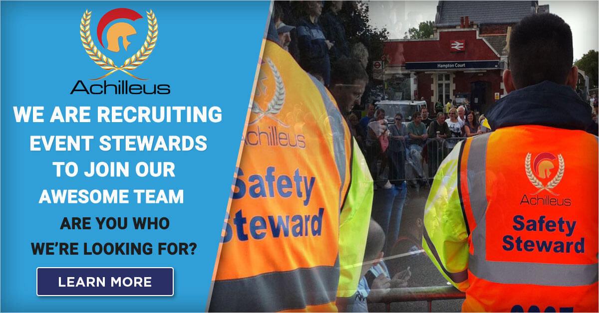 Achilleus-Security-Event-Stewards-Job-Recruitment