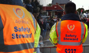NVQ Event Stewards  | Achilleus Security | London