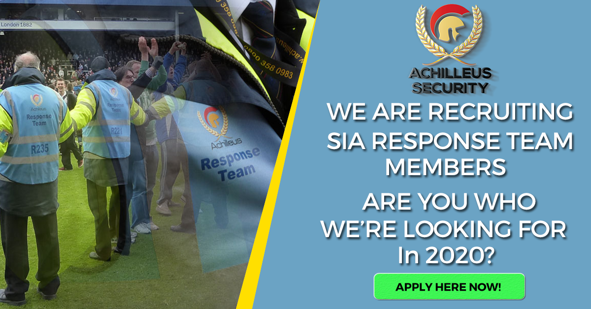 Achilleus Security Achilleus-Security-FBAds_3-Response-Recruitment-Ad-v1-2020 Recruiting SIA Response Team Members - 2020