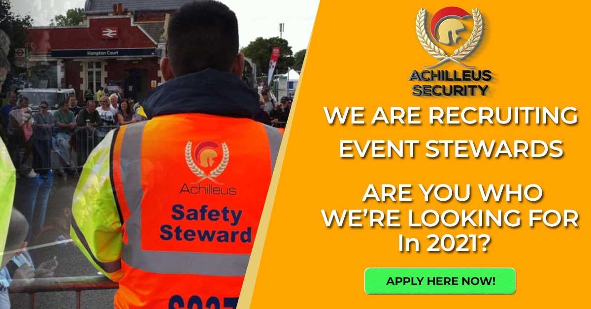 Achilleus Security Achilleus-Security-Event-Steward-Recruitment-2021 Search Teams